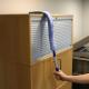 Plumeau de nettoyage flexible avec housse en microfibre FLEXI-DUSTER