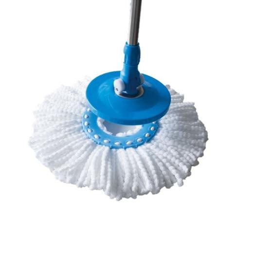 Disque mop de de remplacement en microfibres pour kit seau essoreuse