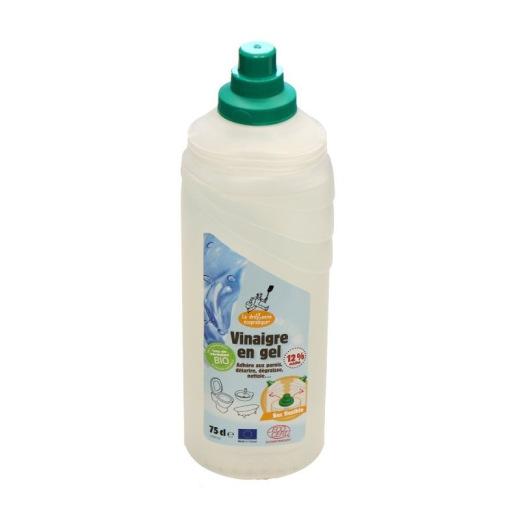 Vinaigre en gel bio 12% destiné au nettoyage et au détartrage
