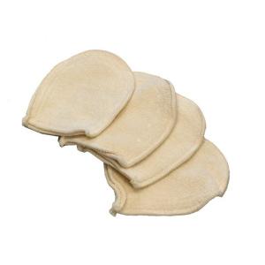 4 mini gants à démaquiller Anaé en coton bio