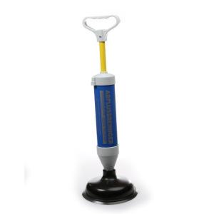 Déboucheur à pompe manuel pour éviers et toilettes
