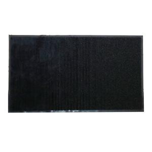 Paillasson-tapis d'entrée magique multizones absorbant et grattant en microfibres