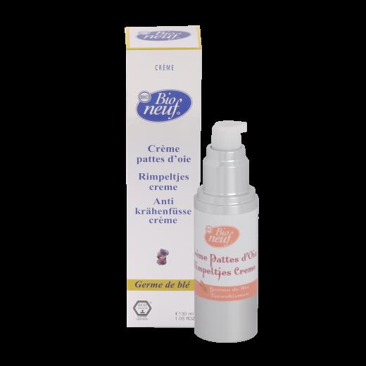 Crème Pattes d'oie contour des yeux 100% naturelle de Bio neuf