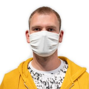 Lot de 2 Masques de protection en tissu lavables et réutilisables