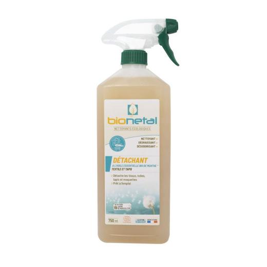 Spray nettoyant naturel pour tissu et moquette