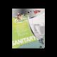 Lavette microfibre pour sanitaires et salle de bains