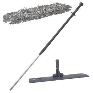 Mopset: houder+steel en microvezelmop