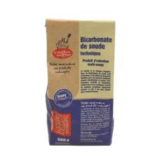 Bicarbonate de soude technique destiné au nettoyage écologique