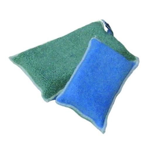 Éponge en tissu microfibre (grande)