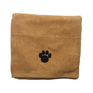 Serviette en microfibre de qualité supérieure pour chiens, chats et animaux de compagnie