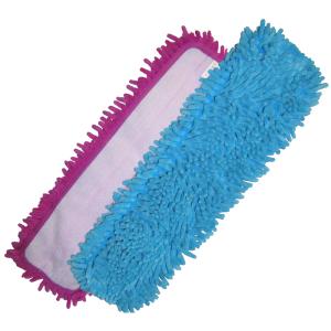 Mop à franges anti-poussière en microfibres