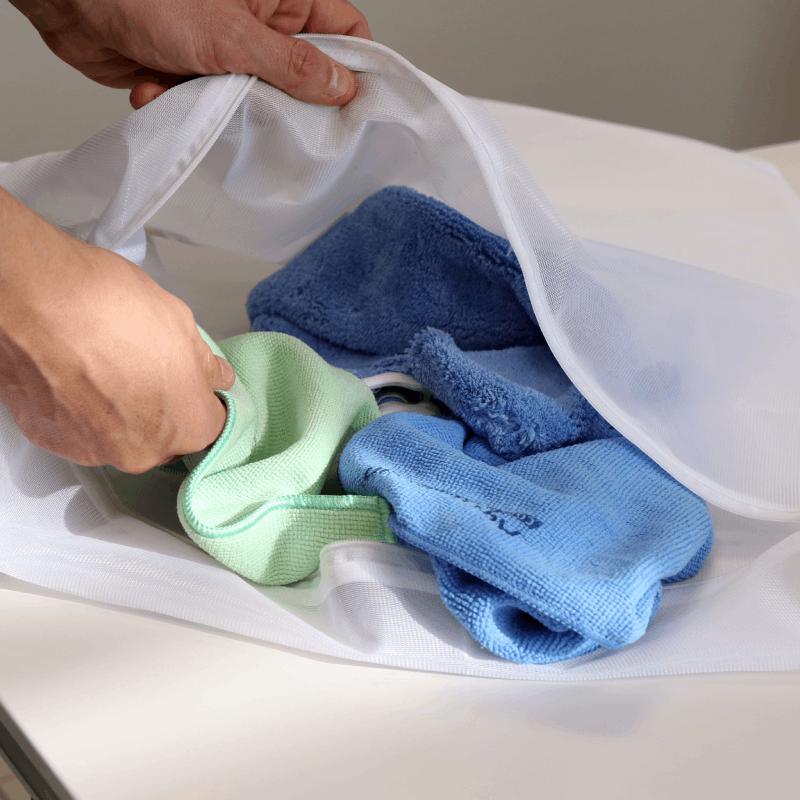 filet linge pour lavage de microfibres aqua clean concept. Black Bedroom Furniture Sets. Home Design Ideas