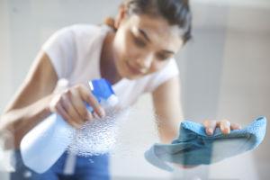 Spray nettoyants toxiques