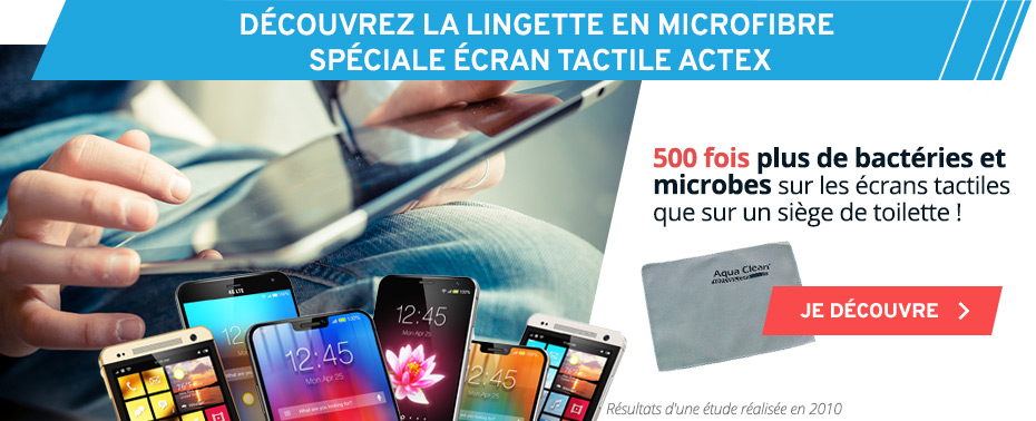 Chiffonette nettoyage ipad, iphone, ecran tactile, microfibre, smartphone