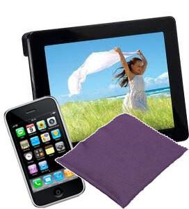 lingette en microfibres actex vikan pour le nettoyage d 39 cran mac pc smartphone et tablette. Black Bedroom Furniture Sets. Home Design Ideas